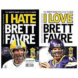 I Love Brett Favre - I Hate Brett Favre Book