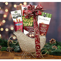 Sleigh Surprise Gift Basket