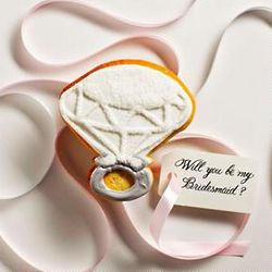 Cookie Ring Wedding Invitation