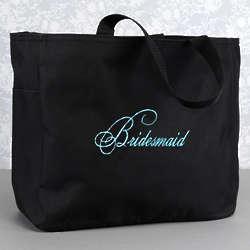 Bridesmaid Flourish Tote Bag
