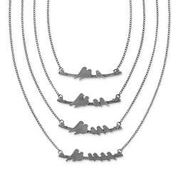 Handmade Parent Nestling Necklace