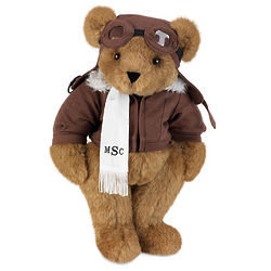 "15"" Aviator Teddy Bear"