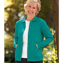 Women's National Fleece Snap Front Jacket