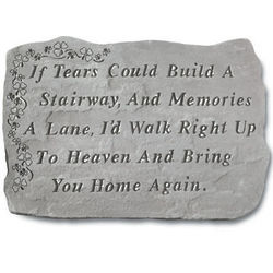 If Tears Could Build a Stairway Shamrock Stone