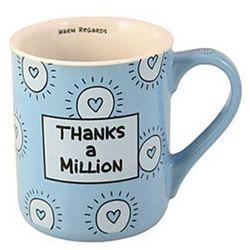 Thanks a Million Surprise Message Mug