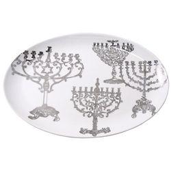 Lights of Hanukkah Platter