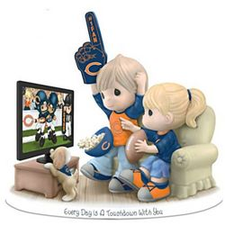 Every Day is a Touchdown with You Chicago Bears Figurine