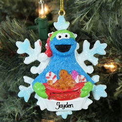 Personalized Cookie Monster Ornament