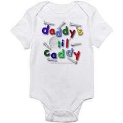 Daddy's Lil' Caddy Infant Creeper