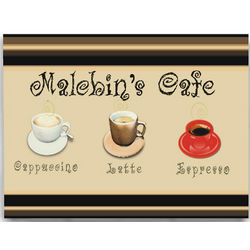 Personalized Cafe Kitchen Art Print
