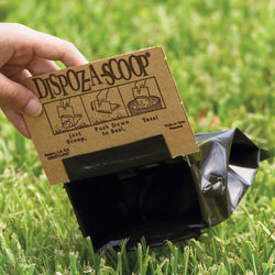 Dispoz-A-Scoop Biodegradable Pet Poop Bags
