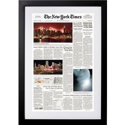 New York Times Keepsake Front Page Reprint