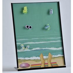 Beach Photo Collage Frame