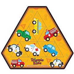 Cars and Trucks Triazzle Kid's Puzzle