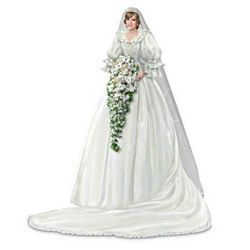 Princess of Our Hearts Diana Bride Figurine