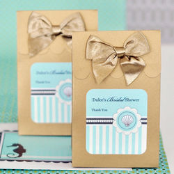 Personalized Beach Themed Favor Bags
