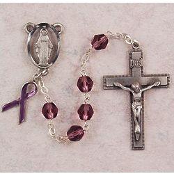 Purple Awareness Rosary