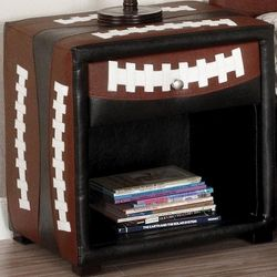 Football Sports Themed Night Stand