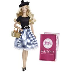 France Barbie Collector Dolls of the World