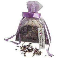 Lavender Seeds Favor Bag