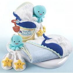 Beach Buddies Bathtime Baby Gift Set