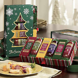 Wisconsin Sausage and Cheese Tree Gift Box