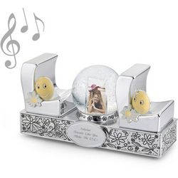 LOL Photo Musical Snow Globe