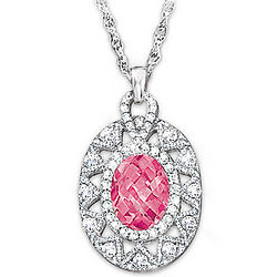 Miracle of Hope Breast Cancer Awareness Pendant Necklace