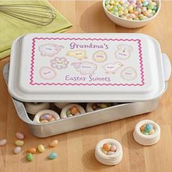 Easter Sweets Personalized Baking Pan