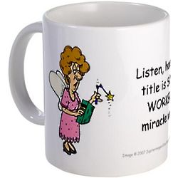 Miracle Worker Small Ceramic Mug