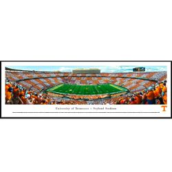 Tennessee Football Checkerboard Panorama Framed Print