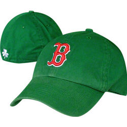 Boston Red Sox St. Patty's Shamrock Fitted Hat