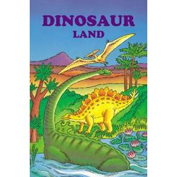 Dinosaur Land Personalized Children's Story Book