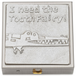 Crocodile Tooth Fairy Box