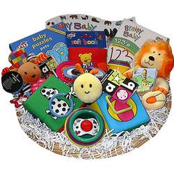 """Little Learners"" Baby Gift Basket"