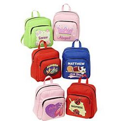 Personalized Fun Times Small Backpack