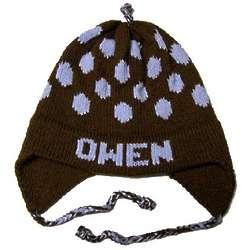 Personalized Polka Dot Earflap Hat