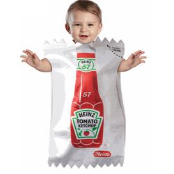 Baby Heinz Ketchup Package Bunting Costume