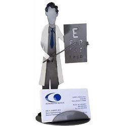 Male Eye Doctor Business Card Holder