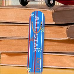 Personalized Boy's Bookmark