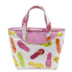 Beach Day Insulated Tote