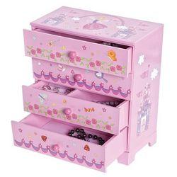 Pink Fairy Princess Jewelry Box