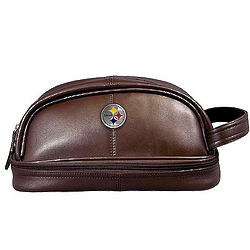 Pittsburgh Steelers Leather Travel Kit