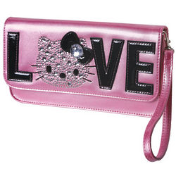 Hello Kitty Love Pink Clutch
