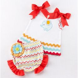 Big Top Baby Tunic and Bloomers Gift Set