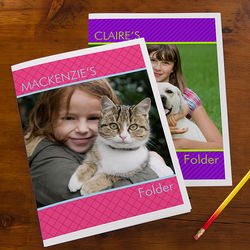 Photo Excitement Personalized Folders