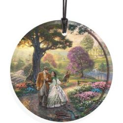 Gone with the Wind Hanging Glass Thomas Kinkade