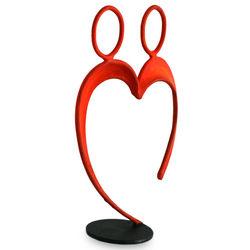 Romantic Alliance Red Steel Statuette