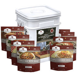7 Day Ultimate Emergency Meal Kit with 58 Servings