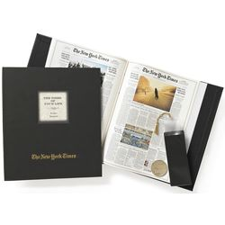 The New York Times Ultimate Birthday Book with Engraved Coin